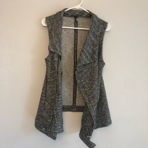For Cynthia Zip Up Layering Vest